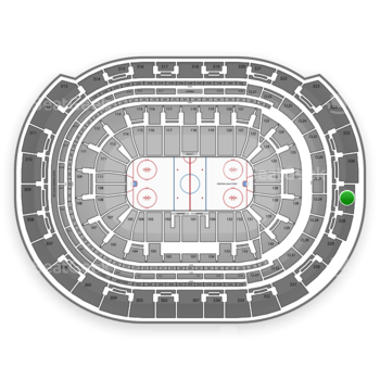 Florida Panthers at BB&T Center Section 327 View