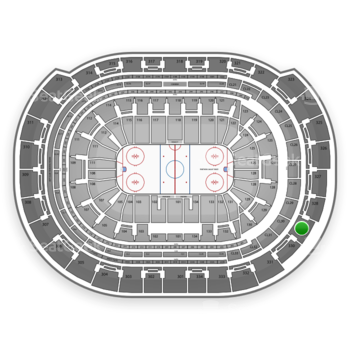 Florida Panthers at BB&T Center Section 329 View