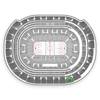 Florida Panthers at BB&T Center Section 332 View
