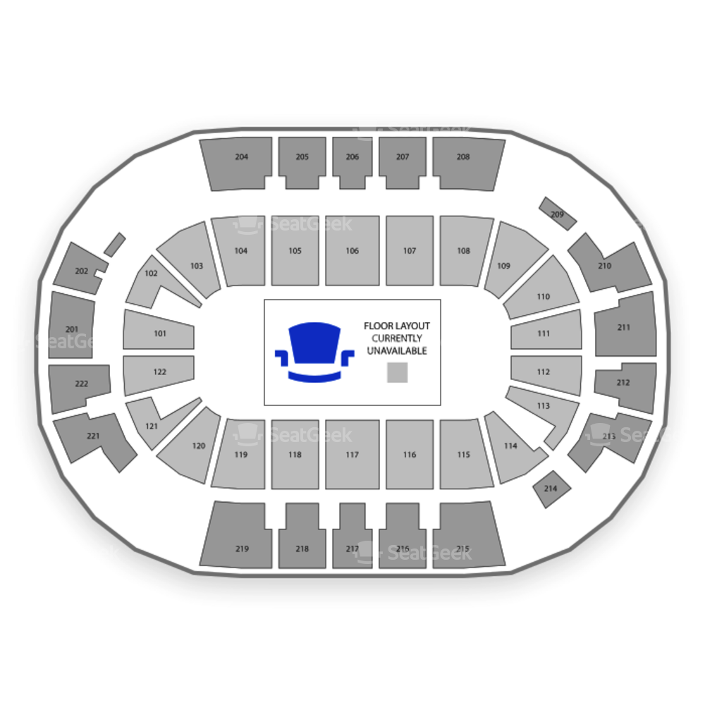 Family Arena Seating Chart Theater