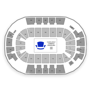 Family Arena Seating Chart Classical