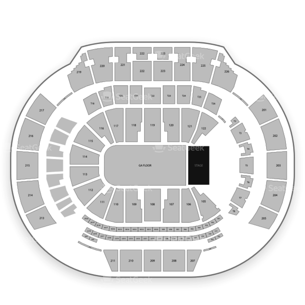 State Farm Arena Seating Chart Concert