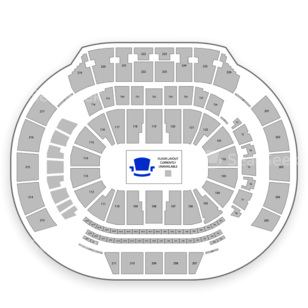State Farm Arena Seating Chart NFL