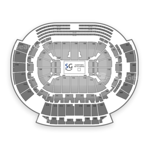 Philips Arena Seating Chart Wwe