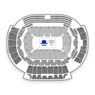 Philips Arena Seating Chart Basketball