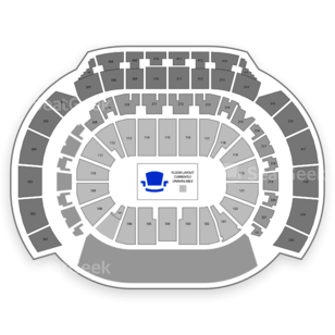 Philips Arena Seating Chart Dance Performance Tour