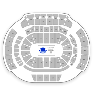 Philips Arena Seating Chart Concert