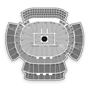 Philips Arena Seating Chart MMA