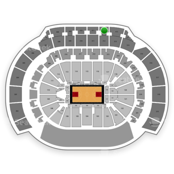 Atlanta Hawks at Philips Arena Section 412 View