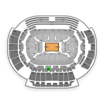 Atlanta Hawks at Philips Arena Section 212 View