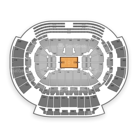 Philips Arena seating chart Atlanta Dream