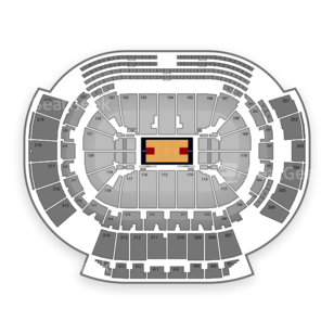 Philips Arena Seating Chart NCAA Basketball