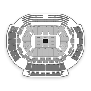 Philips Arena Seating Chart Comedy