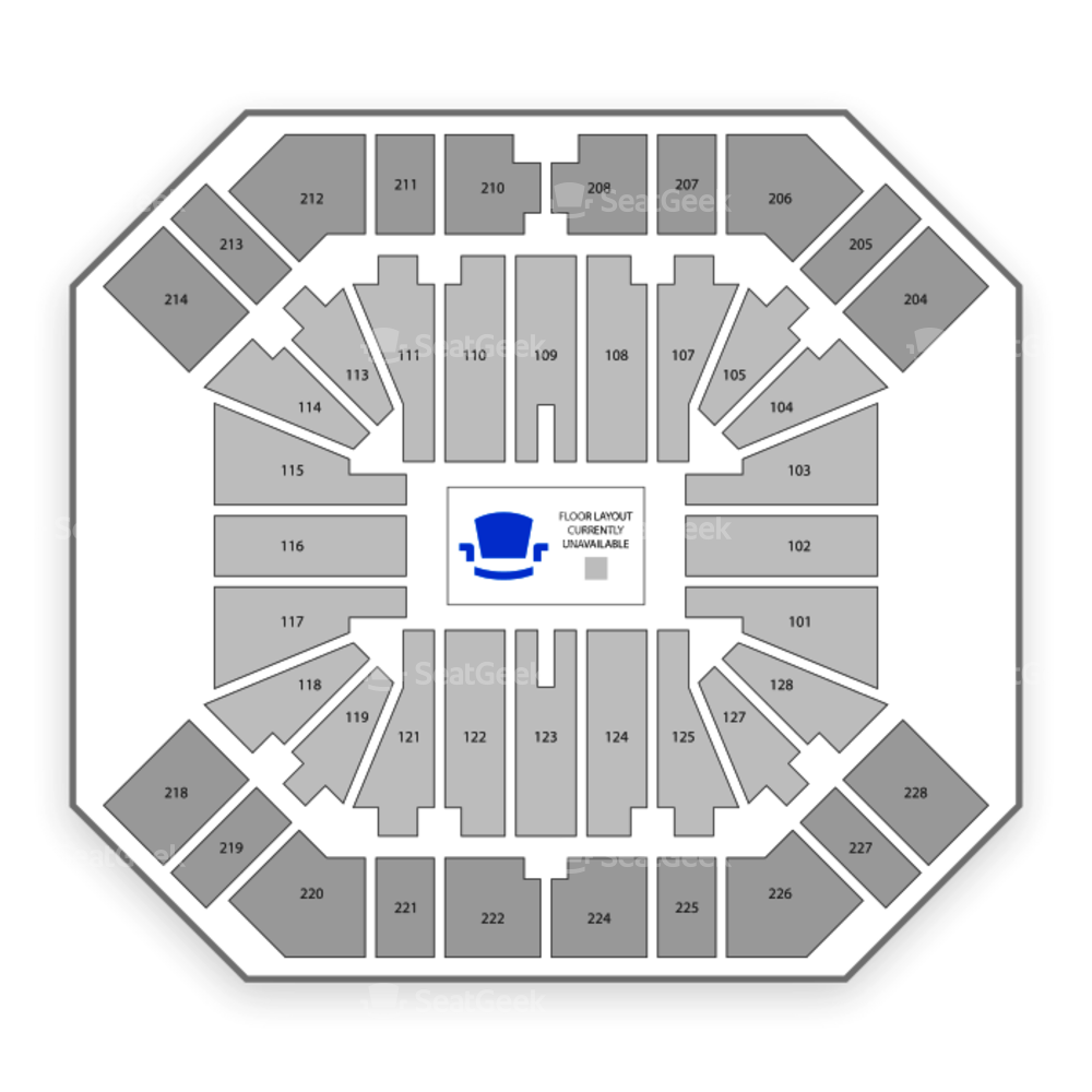 Pan American Center Seating Chart Concert