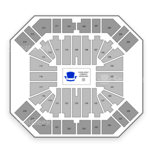 Pan American Center Seating Chart Wwe