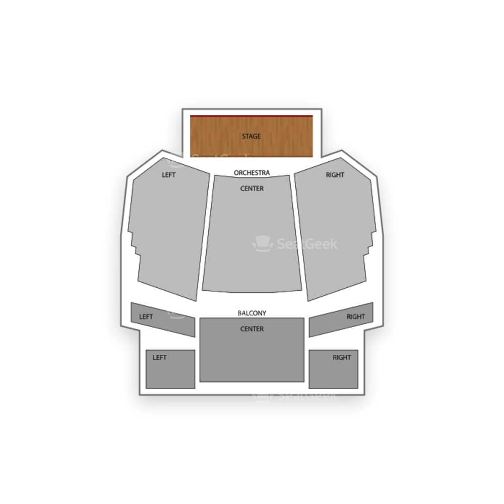 Bardavon Opera House Seating Chart Classical Vocal