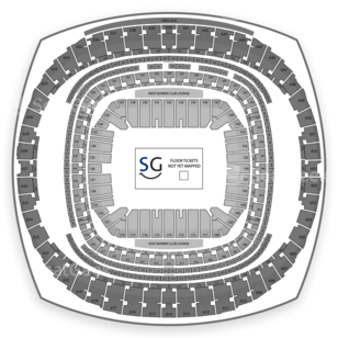 Mercedes-Benz Superdome Seating Chart Comedy