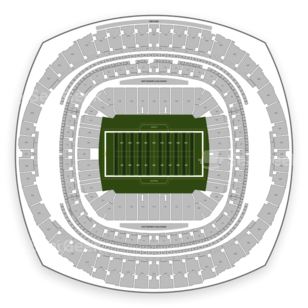 Mercedes Benz Superdome Seating Chart Football