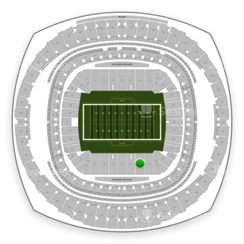 New Orleans Saints at Mercedes-Benz Superdome Section 112 View