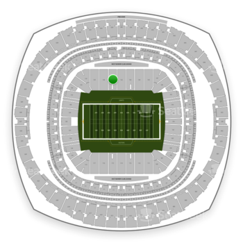 New Orleans Saints at Mercedes-Benz Superdome Section 141 View