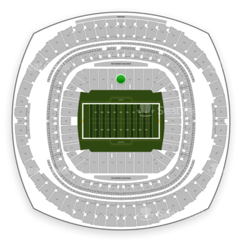 New Orleans Saints at Mercedes-Benz Superdome Section 142 View