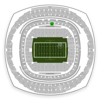 New Orleans Saints at Mercedes-Benz Superdome Section 265 View