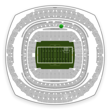 New Orleans Saints at Mercedes-Benz Superdome Section 267 View