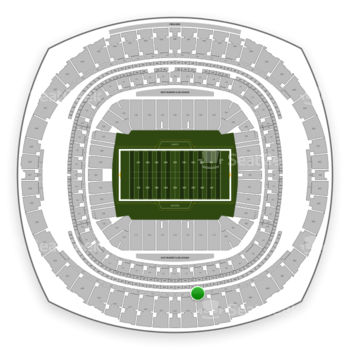 New Orleans Saints at Mercedes-Benz Superdome Section 513 View