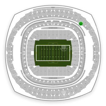 New Orleans Saints at Mercedes-Benz Superdome Section 556 View