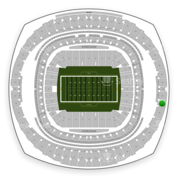 New Orleans Saints at Mercedes-Benz Superdome Section 603 View