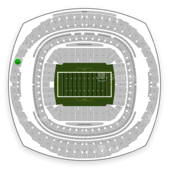 New Orleans Saints at Mercedes-Benz Superdome Section 630 View