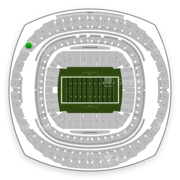 New Orleans Saints at Mercedes-Benz Superdome Section 632 View