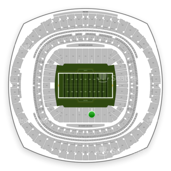 New Orleans Saints at Mercedes-Benz Superdome Section 113 View