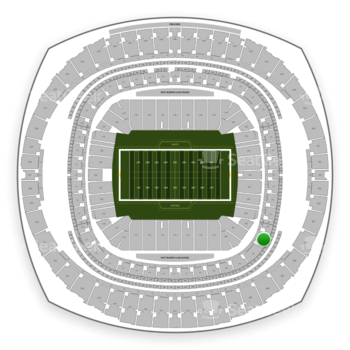 New Orleans Saints at Mercedes-Benz Superdome Section 305 View