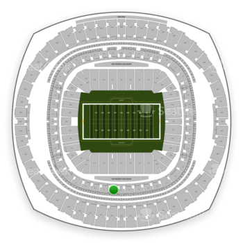New Orleans Saints at Mercedes-Benz Superdome Section 313 View