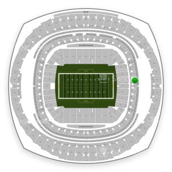 New Orleans Saints at Mercedes-Benz Superdome Section 347 View