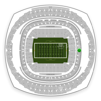New Orleans Saints at Mercedes-Benz Superdome Section 348 View