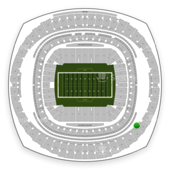 New Orleans Saints at Mercedes-Benz Superdome Section 504 View
