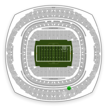 New Orleans Saints at Mercedes-Benz Superdome Section 509 View
