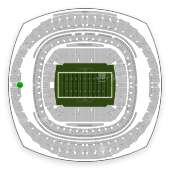 New Orleans Saints at Mercedes-Benz Superdome Section 531 View