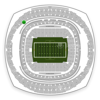 New Orleans Saints at Mercedes-Benz Superdome Section 535 View