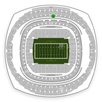 New Orleans Saints at Mercedes-Benz Superdome Section 547 View
