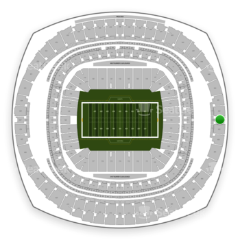 New Orleans Saints at Mercedes-Benz Superdome Section 601 View