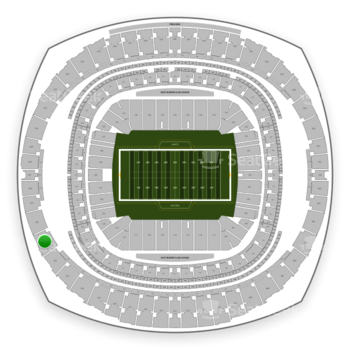 New Orleans Saints at Mercedes-Benz Superdome Section 623 View