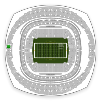 New Orleans Saints at Mercedes-Benz Superdome Section 628 View