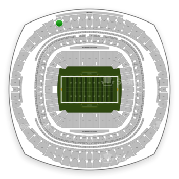 New Orleans Saints at Mercedes-Benz Superdome Section 636 View