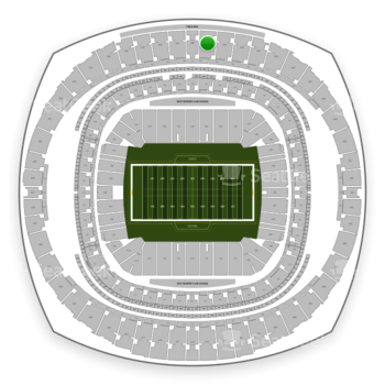 New Orleans Saints at Mercedes-Benz Superdome Section 641 View