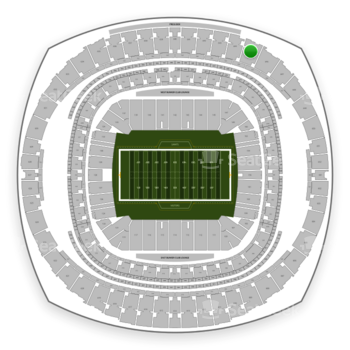 New Orleans Saints at Mercedes-Benz Superdome Section 645 View