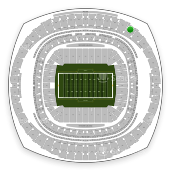 New Orleans Saints at Mercedes-Benz Superdome Section 646 View