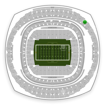 New Orleans Saints at Mercedes-Benz Superdome Section 647 View